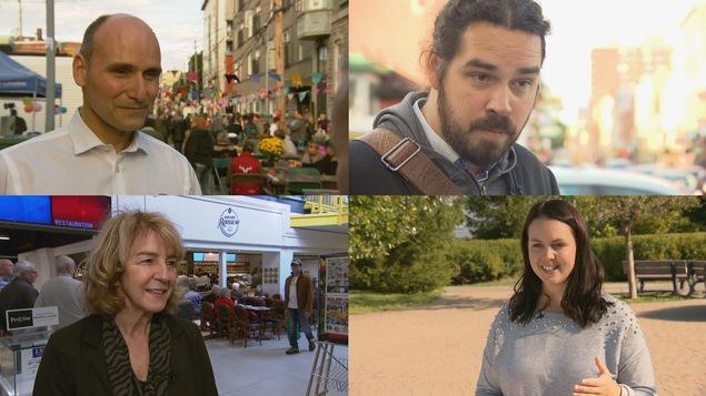 Jean-Yves Duclos, Tommy Bureau, Christiane Gagnon et Bianca Boutin sont les candidats des principaux partis dans la circonscription de Québec.