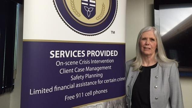 La directrice générale des Services aux victimes du district de Nipissing, Carolyn Couchie