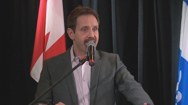 Le directeur général du Cégep de l'Outaouais, Frédéric Poulin