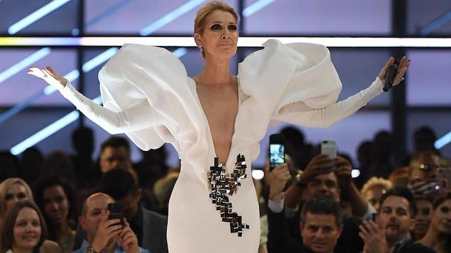 Céline Dion : Surprise, René-Charles rappe à son concert !
