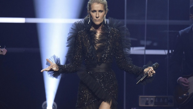 Celine Dion announces Courage World Tour, set to kick-off on September 18, 2019, during a special live event at The Theatre at Ace Hotel on Wednesday, April 3, 2019, in Los Angeles. THE CANADIAN PRESS/AP-Invision-Richard Shotwell