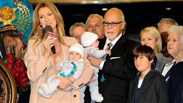 Céline Dion et sa famille