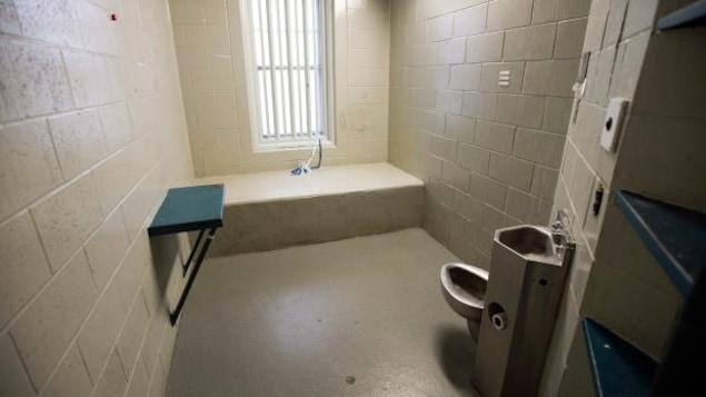 Une cellule du pénitencier de Kinsgton, aujourd'hui fermé.