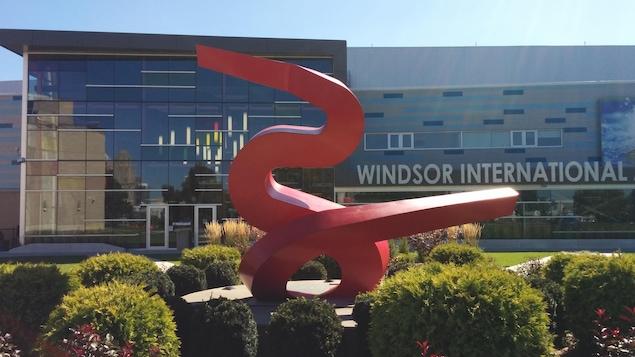 Le centre aquatique de Windsor en Ontario