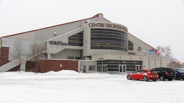 Le Centre Georges-Vézina à Chicoutimi
