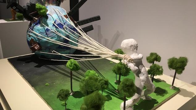 L'exposition Change le monde, une oeuvre à la fois au Musée québécois de culture populaire.
