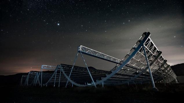 Le télescope CHIME détecte des signaux mystérieux