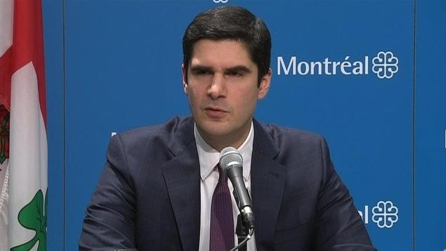 Harout Chitilian candidat à la mairie d'Ahuntsic-Cartierville
