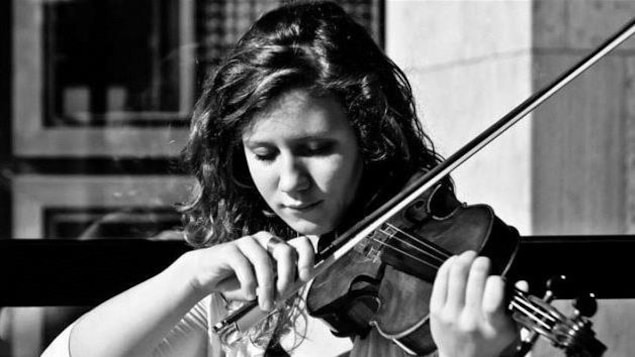 Chloé Chabanole, violoniste originaire de Regina