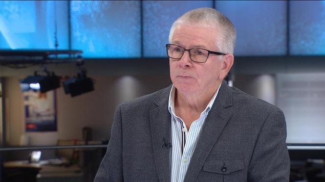 Claude Béliveau, coauteur de l'étude « Un réseau en perte de mission»
