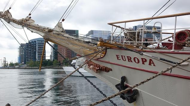 L'Europa est un trois-mâts hollandais construit en 1911