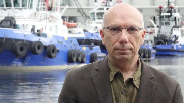André Kirouac, Directeur du Musée naval de Québec.