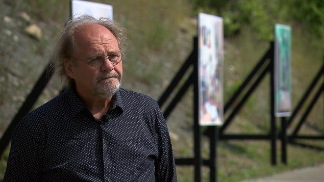 Le directeur artistique et général des Rencontres internationales de la photographie, Claude Goulet