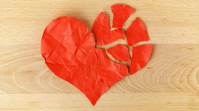 Un cœur brisé