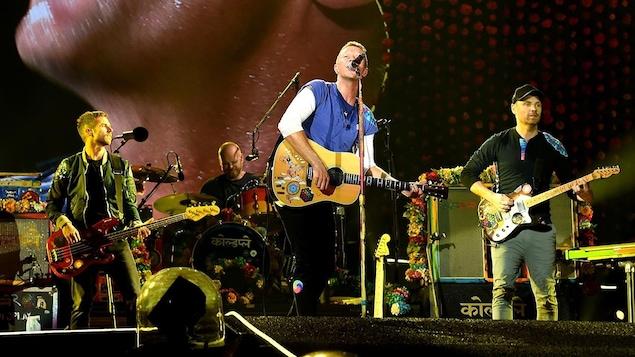 Le groupe britannique Coldplay