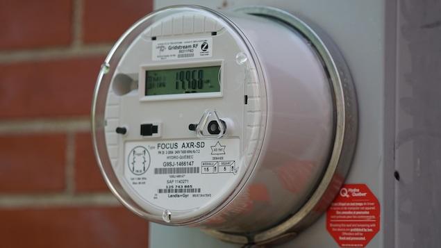 Un compteur électrique