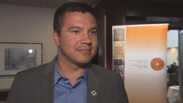 Le grand chef du Conseil de la nation atikamekw, Constant Awashish, est à l'Assemblée des Premières Nations à Trois-Rivières.
