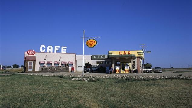 Sation service à Dog River, où la série télé Corner Gas a été tournée.