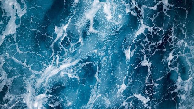 Les courants marins dans l'océan Atlantique