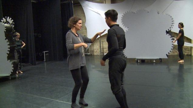 Danielle Sturk artiste en résidence  Contemporary Dancers de Winnipeg