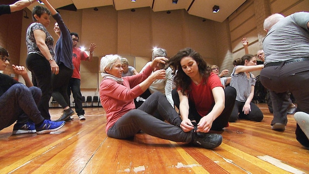 Le spectacle «Danser le printemps» en répétition à Montréal