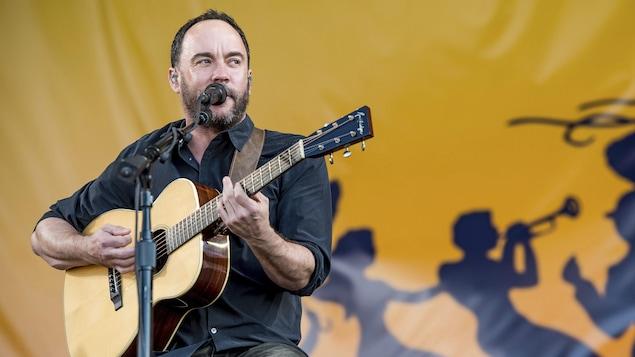 Le chanteur et guitariste Dave Matthews, du groupe Dave Matthews Band