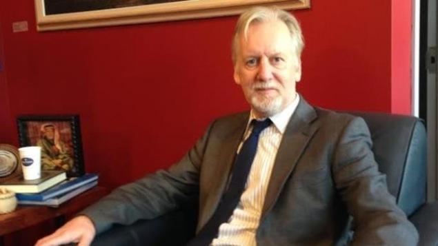 Le recteur de l'Université du Cap-Breton, David Wheeler