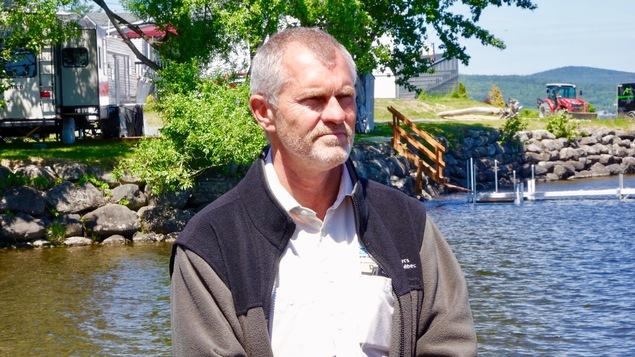 Le directeur du Parc national du Lac-Témiscouata, Denis Ouellet.
