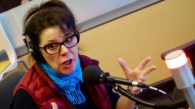 La comédienne Denise Bouchard