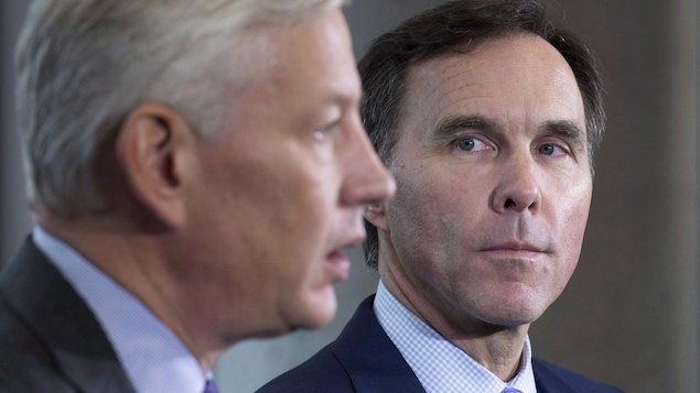 Dominic Barton et Bill Morneau