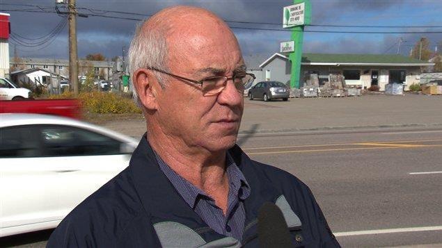 Donald Perron, maire de Longue-Rive et préfet de la MRC de la Haute-Côte-Nord.
