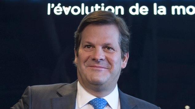 Le président du C.A. de Bombardier, Pierre Beaudoin.