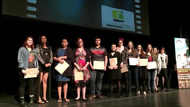 Une cinquantaine d'élèves de Val-d'Or, Senneterre, Malartic et Kitcisakik ont été honorés par la Commission scolaire de l'Or-et-des Bois pour leur persévérance.