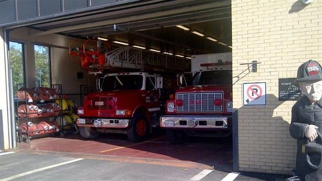 Le service d'incendie d'Edmundston