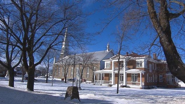 L'église de l'Isle-Verte.