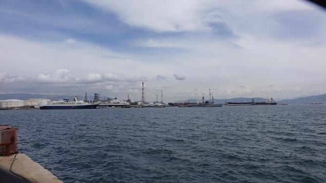 La ville portuaire d'Elefsina