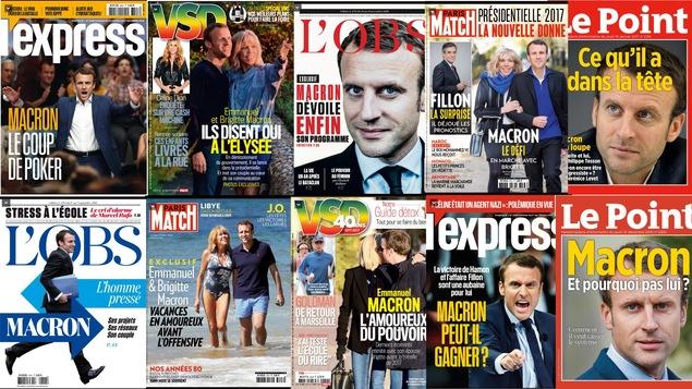 Emmanuel Macron est en quelques mois devenu la coqueluche des médias.