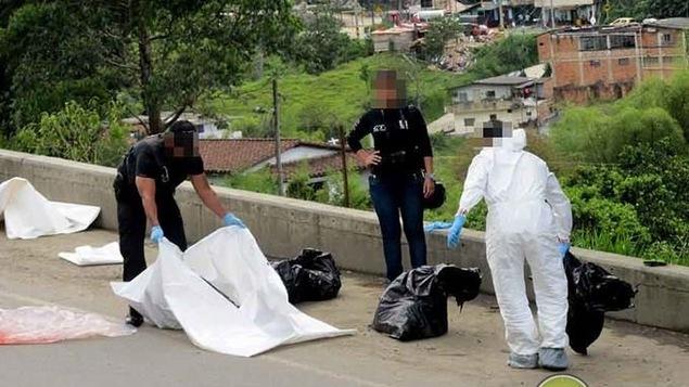 Le corps de Frédéric Lavoie retrouvé démembré à Sabaneta, en Colombie.