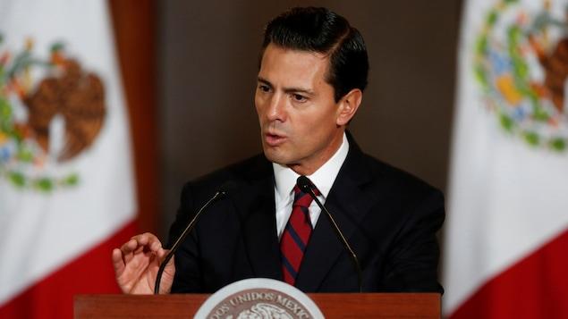 Une rencontre avec Peña Nieto aurait été
