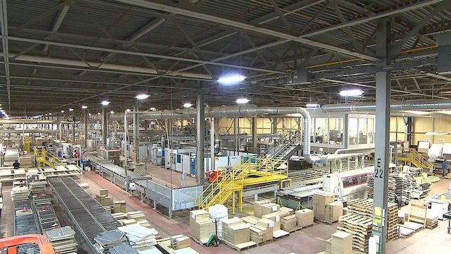 L'usine de Fabritec, à Bromont