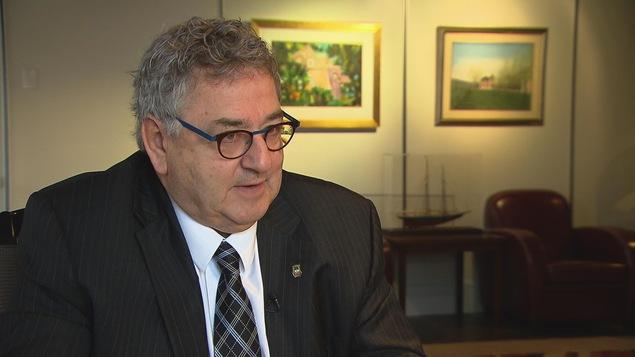 Éric Forest, sénateur et ancien maire de Rimouski.