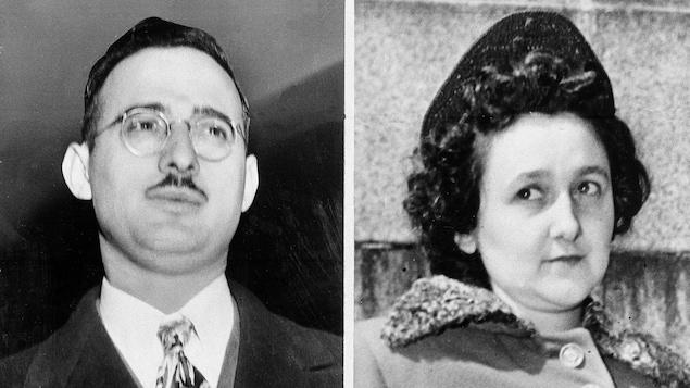 Le couple Ethel et Julius Rosenberg ont été arrêtés puis exécutés pour espionnage au profit de l'URSS.