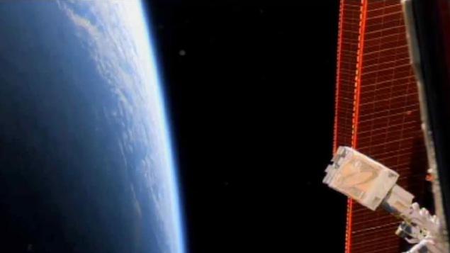 Capture d'image de la vidéo de déploiement d'Ex-Alta1.