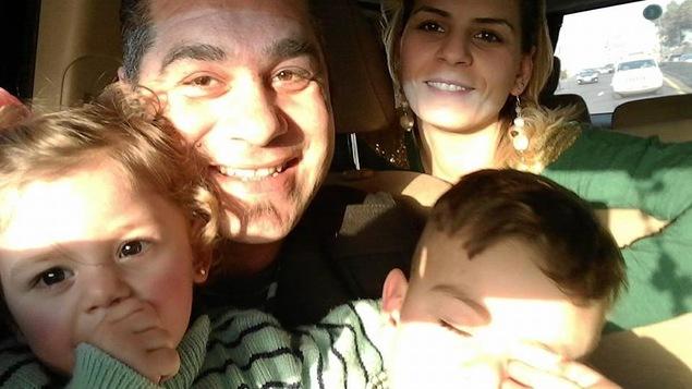Bashar Atallah, sa femme Talin et leurs deux enfants arrivent à la fin d'un processus d'accueil qui aura duré deux ans.