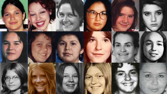 Femmes autochtones disparues ou assassinées.