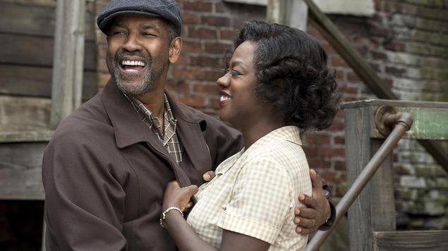 Denzel Washington et Viola Davis dans le film « Fences »