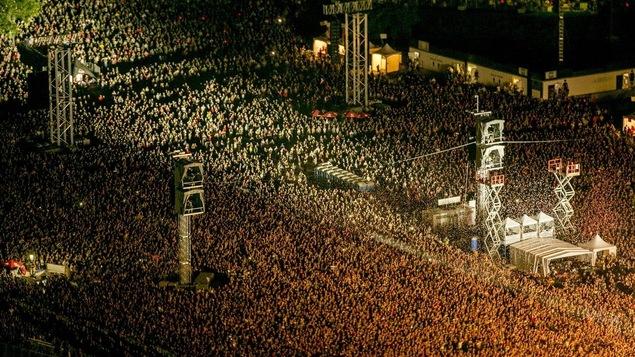 Rammstein et Red Hot Chili Peppers ont attiré des foules monstres sur les Plaines.