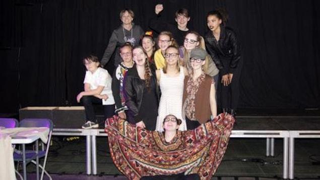 Gagnants du Festival théâtre jeunesse en Alberta 2016 (7e à 9e année)