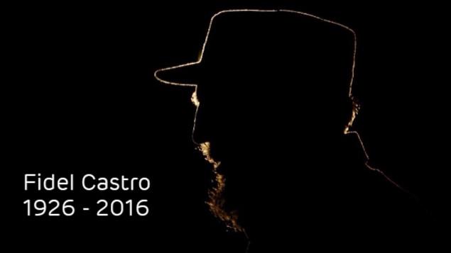 Fidel Castro dans le noir