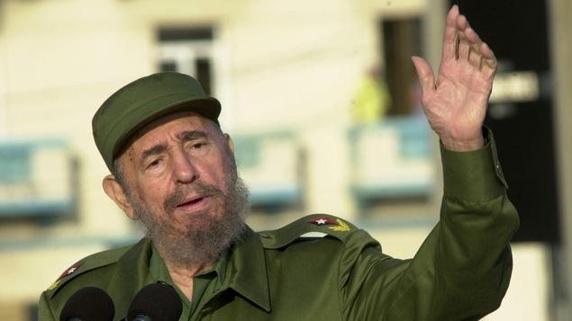 Le père de la révolution cubaine Fidel Castro